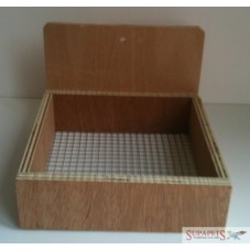 Wooden Dove/Canary Nest Pan