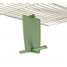Hanging Plastic Privacy Perch (Double Perch)