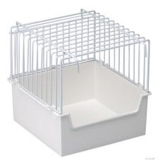 B005 Wire Bird Bath