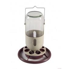 Ost Glass Jar Feeder/Drinker