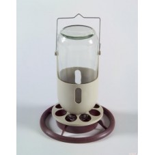 Fauna Glass Jar Feeder/Drinker