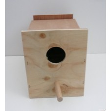 Budgie Nest Box with Concave