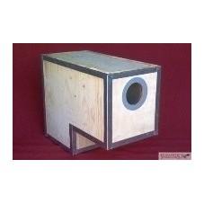 L-shaped Reinforced Parrot Nest Box