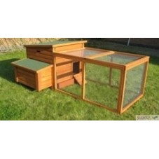 Small Chicken Coop plus Run