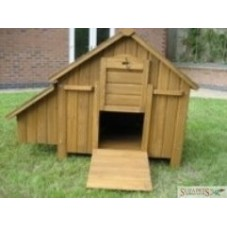 Small Apex-roof Chicken Coop