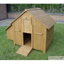 Large Apex-roof Chicken Coop
