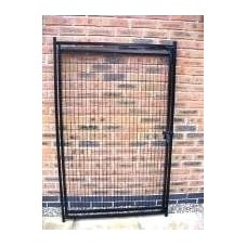 1m Mesh Dog Run Panel with Door