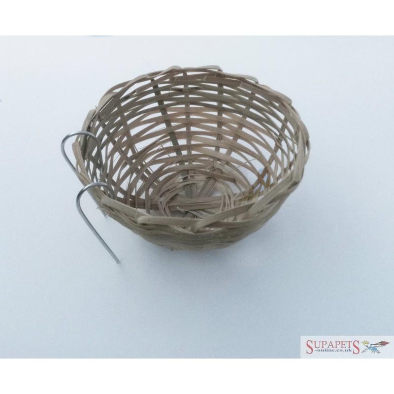 Wicker Nest Pan 10cm diameter approx
