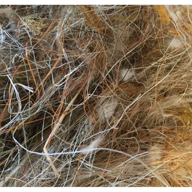 Mixed Animal Hair, Natural Fibres and Moss 500g