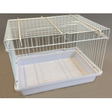 Large Bird Bath / Weaning Cage with Door