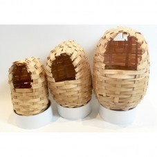 Wicker Finch Nest Basket