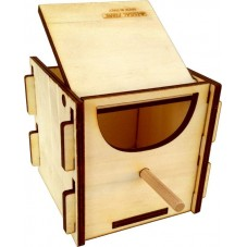 Wooden Sectional Finch box