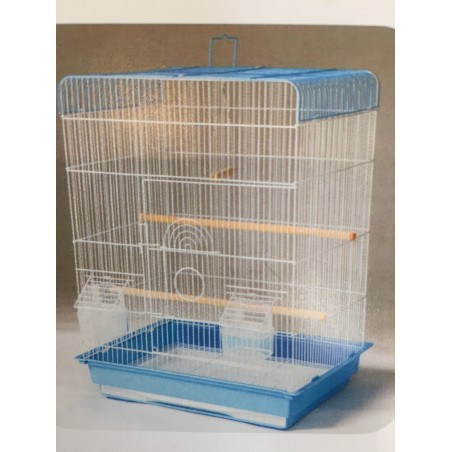Extra large flat top cage box of 4