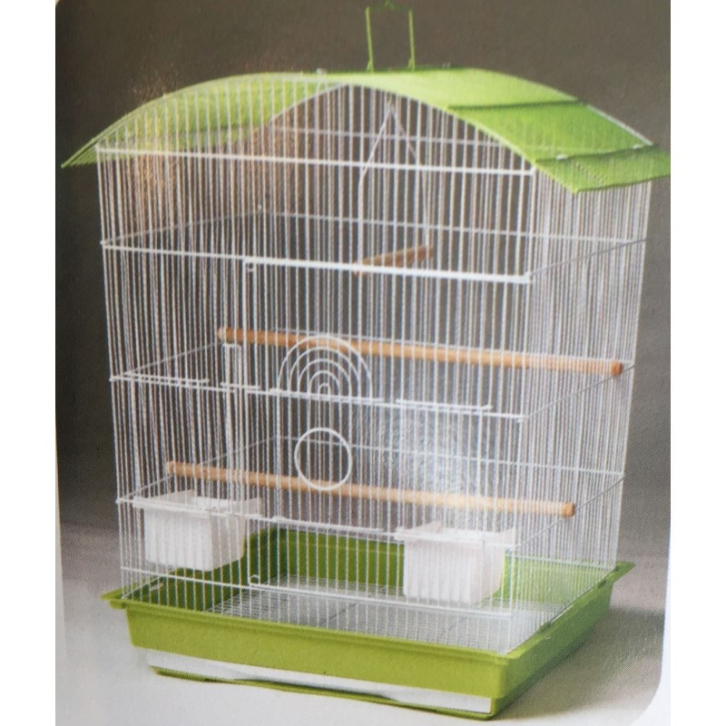 Extra large curved top cage