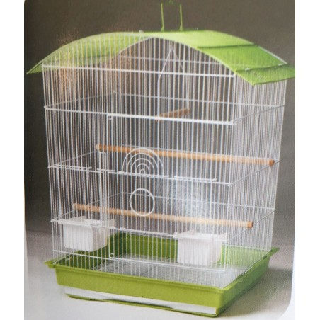 Extra large curved top cage box of 4