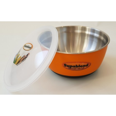Supablend Stainless Steel Mixing Bowl with air tight lid