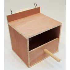 Finch Nest Box with Hooks