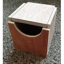 Wooden Finch Nest Box