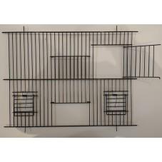2 door Cage Fronts with...